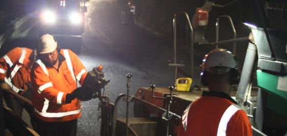 Night maintenance work SH1 Whangarei