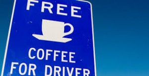 Free Coffee For Drivers At Uretiti